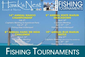 2019 Fishing Tournaments Hawks Nest